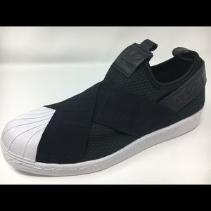huge discount c7593 a7821 adidas Shoes - Authentic Adidas Superstar Slip On Black CQ2382